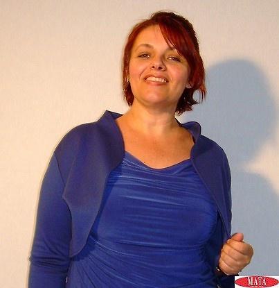 Torera mujer azul tallas grandes 13504
