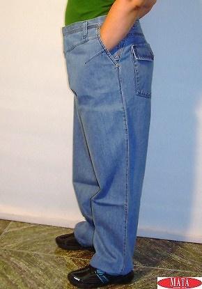 Pantalón vaquero hombre tallas grandes 01023