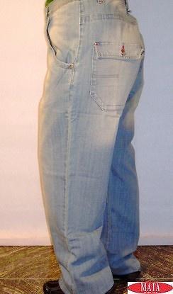 Pantalón vaquero hombre tallas grandes 04530