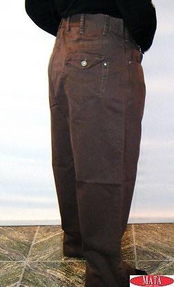 Pantalón hombre marrón 08904