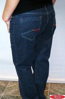 Pantalón tallas grandes mujer vaquero 09181