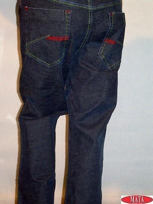 Pantalón tallas grandes vaquero 09181
