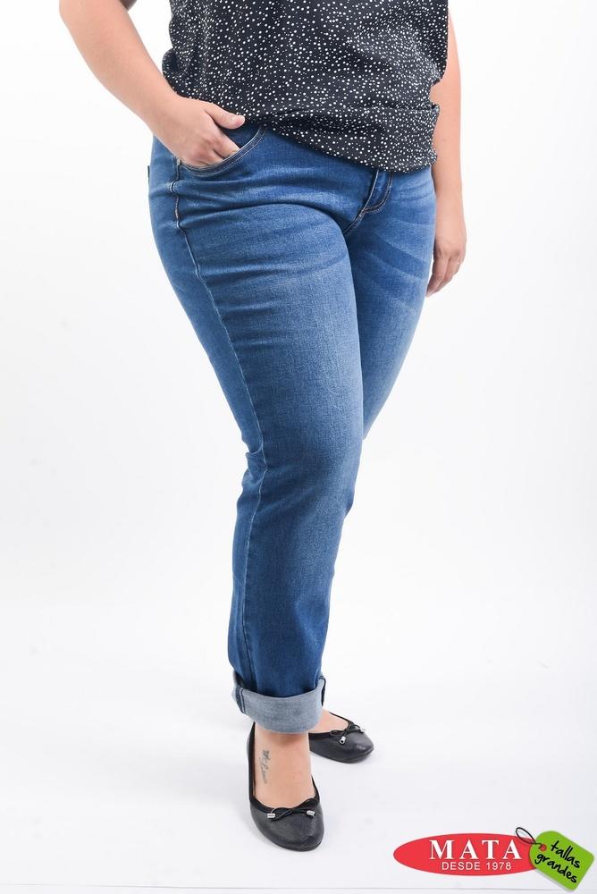Vaquero mujer tallas grandes 20491 - Ropa mujer tallas grandes, Pantalones,  Pantalones Vaqueros - Modas Mata Tallas Grandes