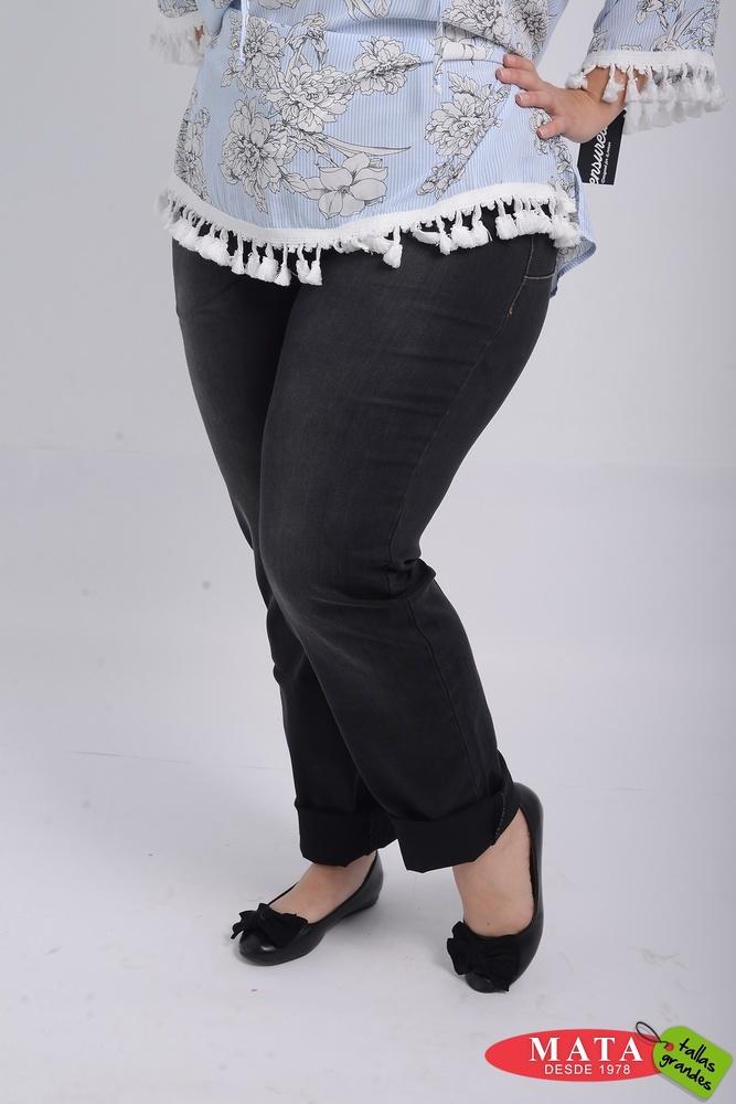 Vaquero Mujer Tallas Grandes 21100 Ropa Mujer Tallas Grandes Pantalones Pantalones Vaqueros Modas Mata Tallas Grandes