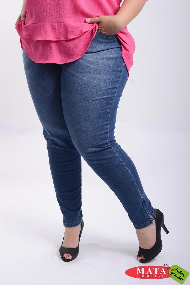 Vaquero Mujer Tallas Grandes 21346 Ropa Mujer Tallas Grandes Pantalones Pantalones Vaqueros Modas Mata Tallas Grandes