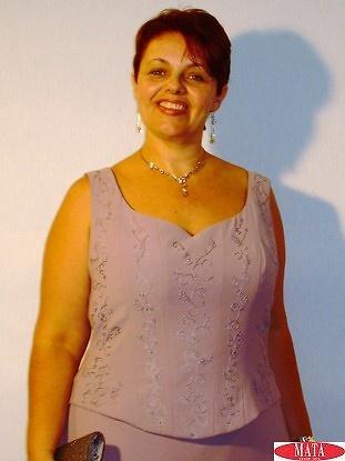Vestido mujer tallas grandes 13262