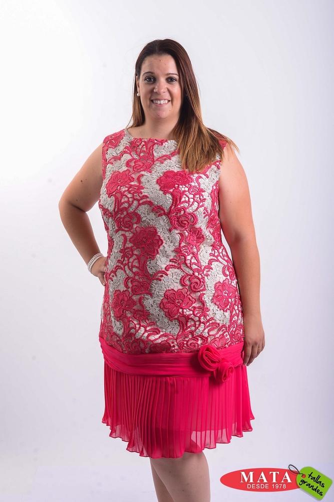 Vestido mujer 20342 - Ropa mujer tallas grandes, Vestidos, Fiesta ...