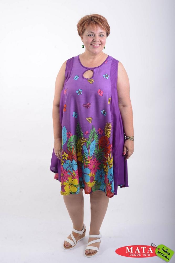 Vestido mujer 21535 - Ropa mujer tallas grandes, Vestidos, Vestidos ...
