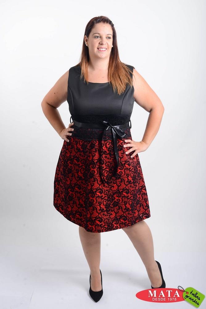 Vestido mujer diversos colores 20660 ropa mujer tallas grandes fiesta ropa mujer tallas - Ropa interior tallas especiales ...