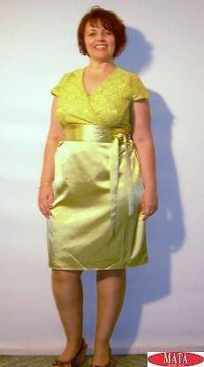 Vestido mujer tallas grandes 14061