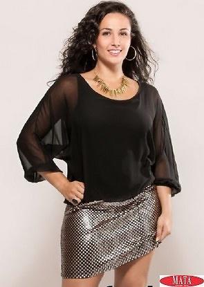 Vestido mujer tallas grandes 16170 ropa mujer tallas grandes vestidos casual ropa mujer - Ropa interior tallas especiales ...