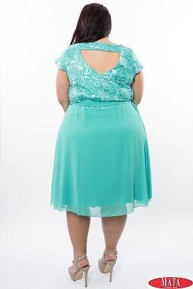 Vestido mujer verde 19807
