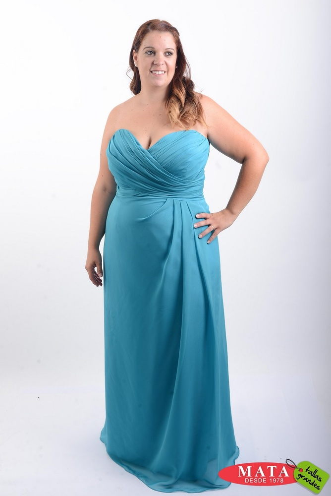 Vestido mujer tallas grandes 19837