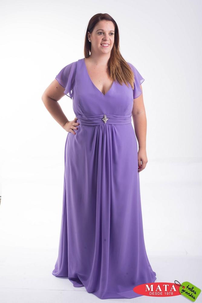 Vestido mujer tallas grandes 19839 - Ropa mujer tallas grandes ...