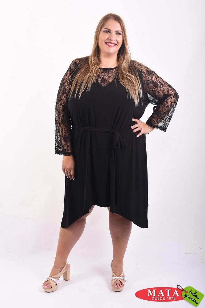 48ab6b30 Vestido mujer tallas grandes 20656 - Ropa mujer tallas grandes ...