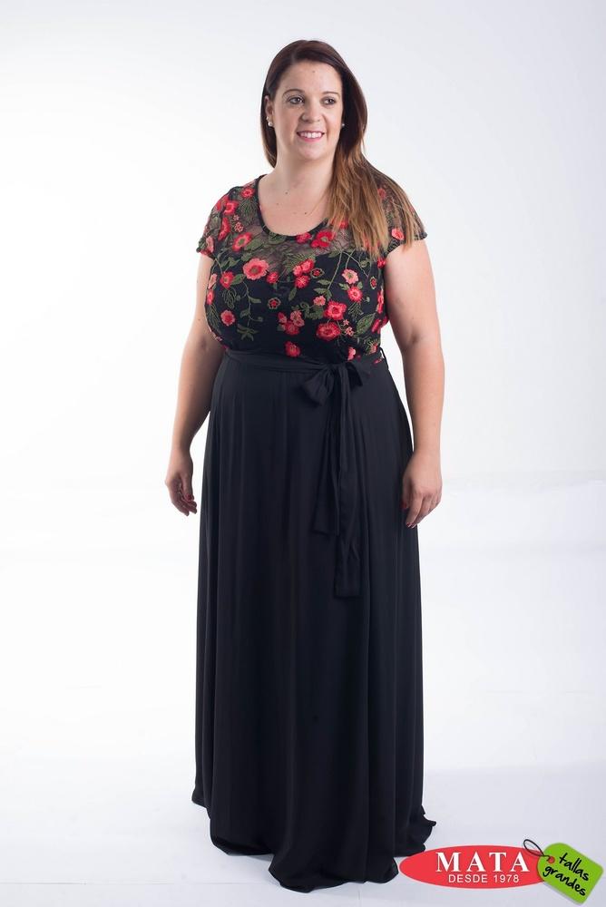Vestido mujer tallas grandes 20765