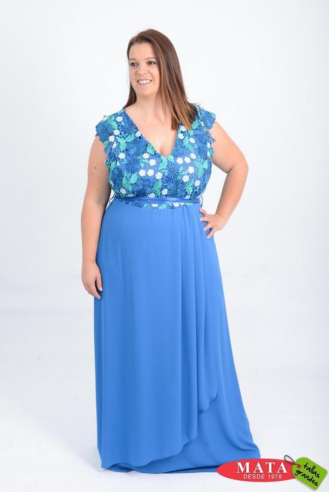 Vestido mujer tallas grandes 20915