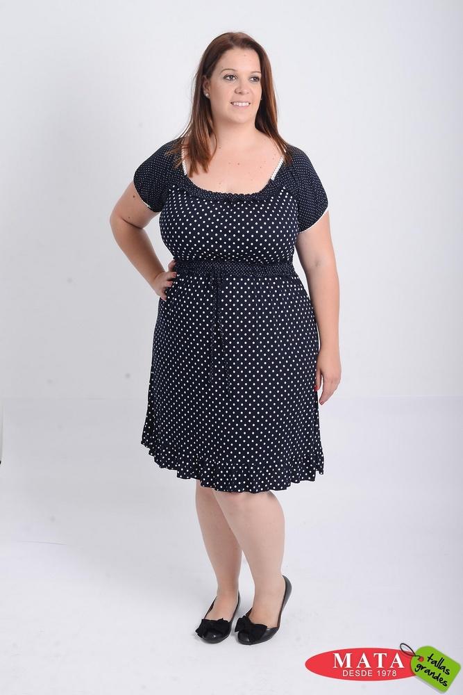 Vestido mujer tallas grandes 21042