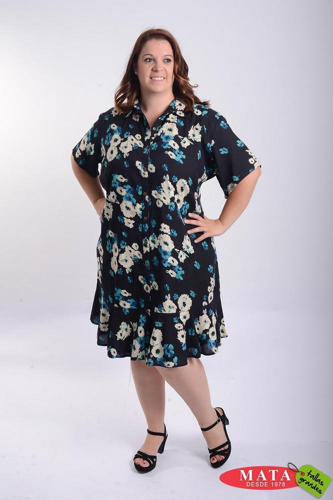 Vestido mujer tallas grandes 21440