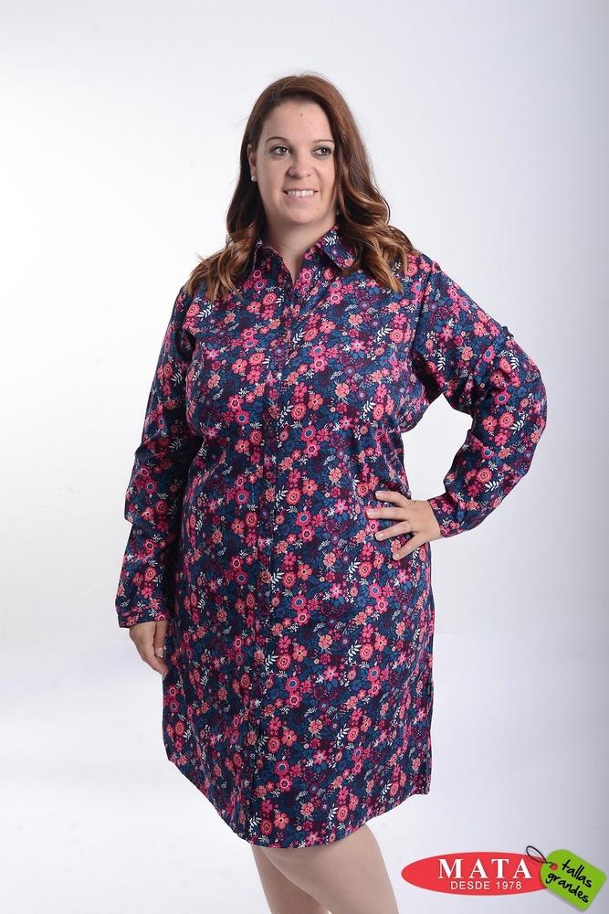 Vestido mujer tallas grandes 21456