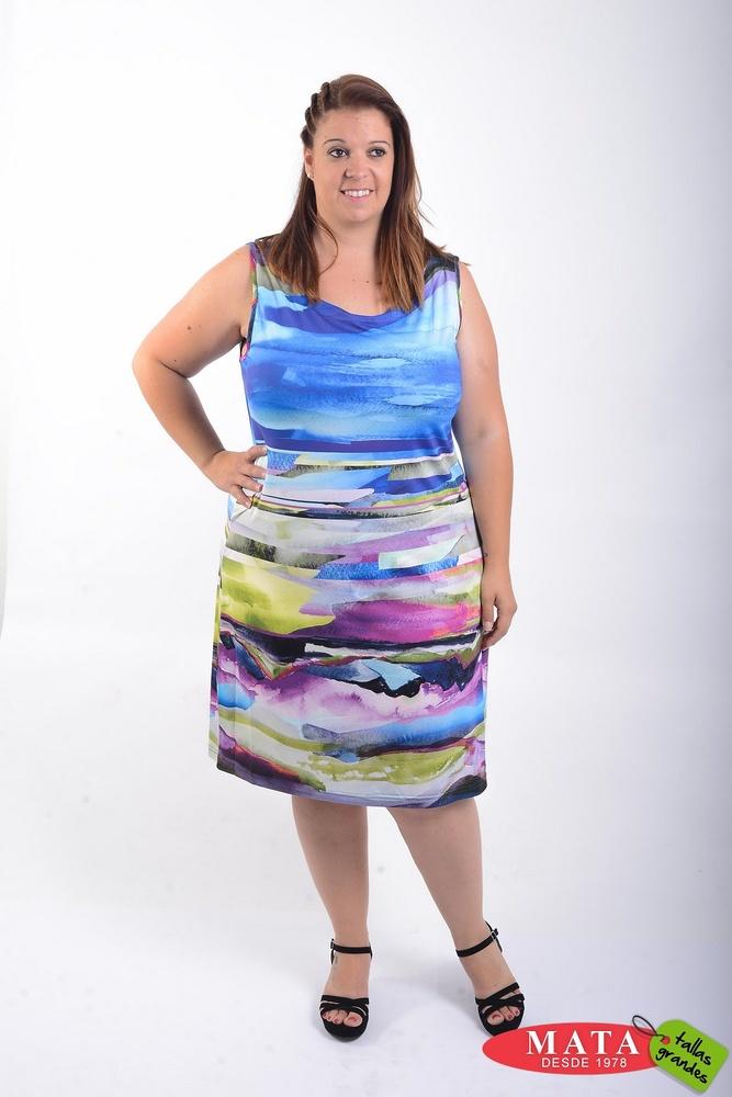 Vestido mujer tallas grandes 21510