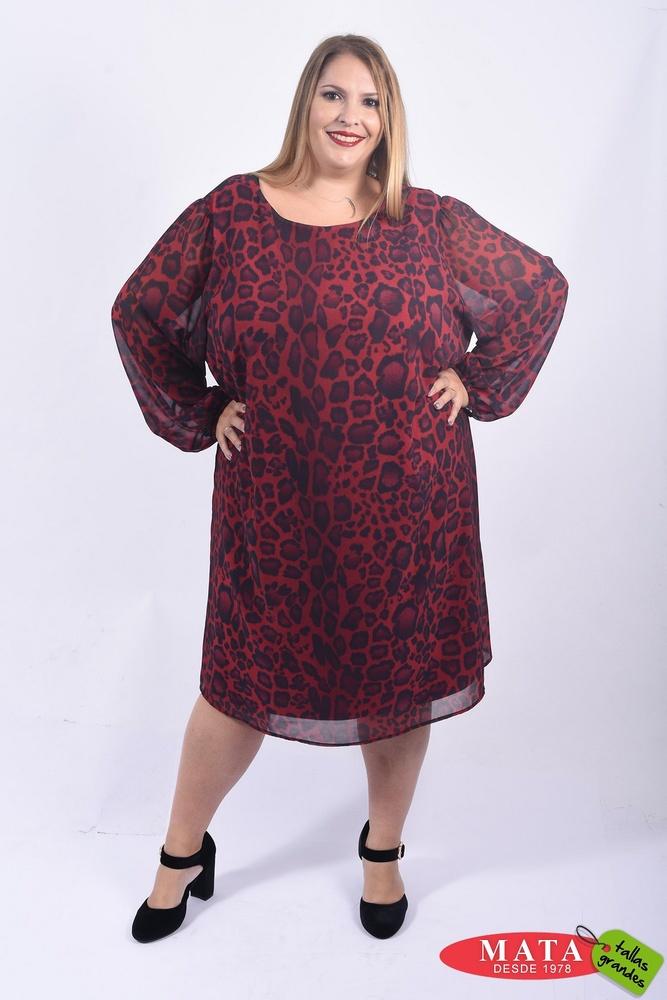 Vestido mujer tallas grandes 22085