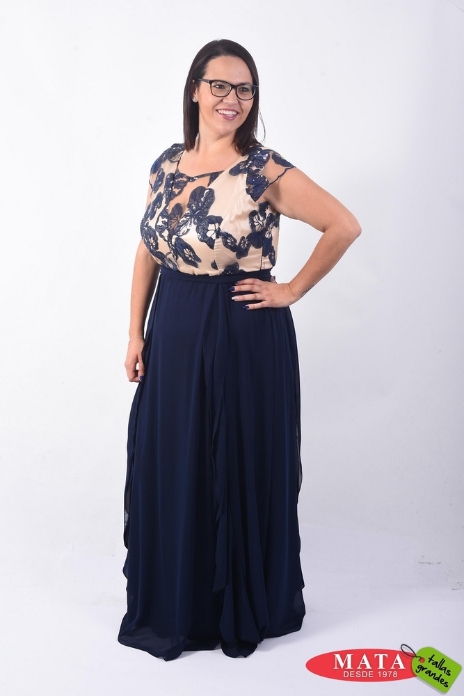 Vestido mujer tallas grandes 22380