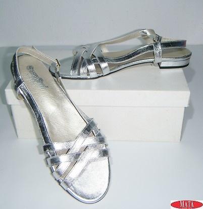 Zapato mujer plata 17504