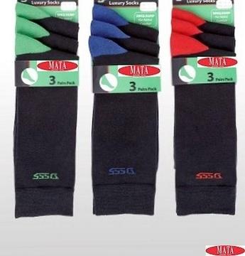3  pares de calcetines tallas grandes 14757