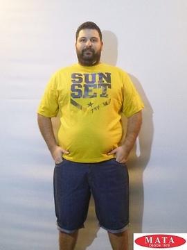 Bermuda hombre tallas grandes 18570