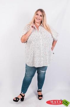 Ropa Mujer Tallas Grandes Blusas Blusas Casuales Ropa Tallas Grandes Ropa Tallas Grandes Modas Mata Tienda Online De Ropa Tallas Grandes Modas Mata Tallas Grandes