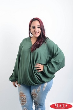 Blusa mujer tallas grandes 19619