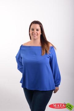 Blusa mujer tallas grandes 20582