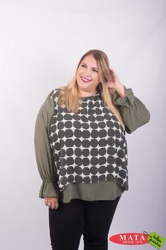 Blusa mujer tallas grandes 23256