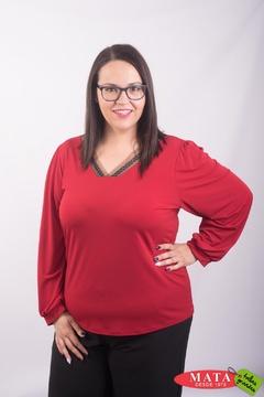 Blusa mujer tallas grandes 23417
