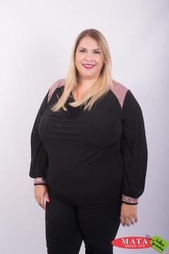 Blusa mujer tallas grandes 23421