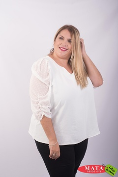 Blusa mujer tallas grandes 23620