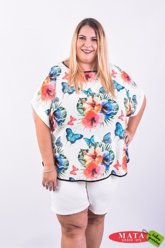 Blusa mujer tallas grandes 23769