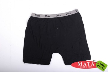 Boxer hombre negro 10076
