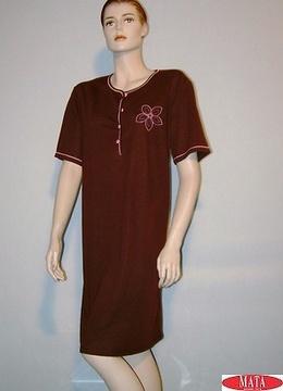 Camisón mujer marrón 08293