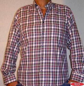 Camisa hombre cuadros 11210