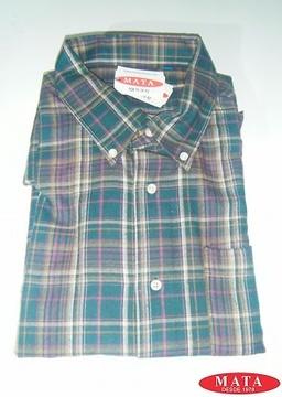 Camisa hombre malva 09254