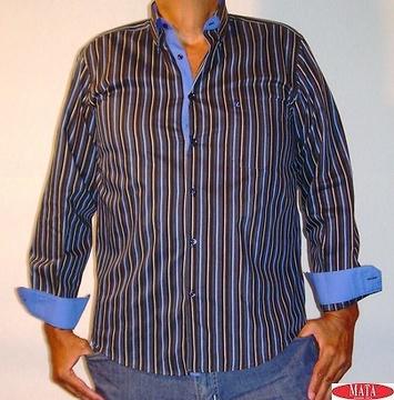 Camisa hombre marino 11218