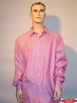 Camisa hombre morado 09951