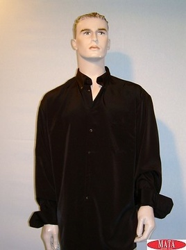 Camisa  hombre negro 09654