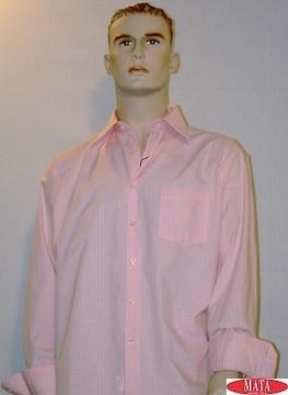 Camisa hombre rosa 00681