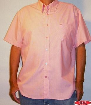 Camisa hombre rosa 10925