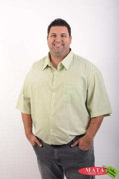 Camisa hombre tallas grandes 04261