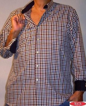 Camisa hombre tallas grandes 11467