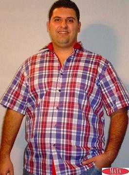 Camisa hombre tallas grandes 12611